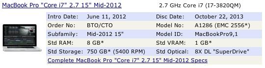 MacBookPro9,1 macbookpro mid-2012