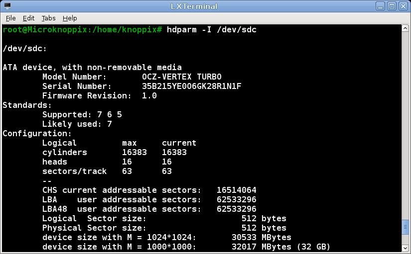 knoppix65 install to harddisk4