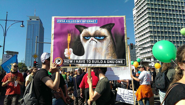 the NSA broke the internet
