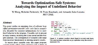 unstable code