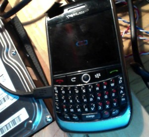 good bye blackberry