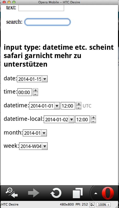 operaMobile textinput semantik date time month