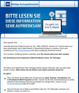 1und1 gmx web email sicherheit