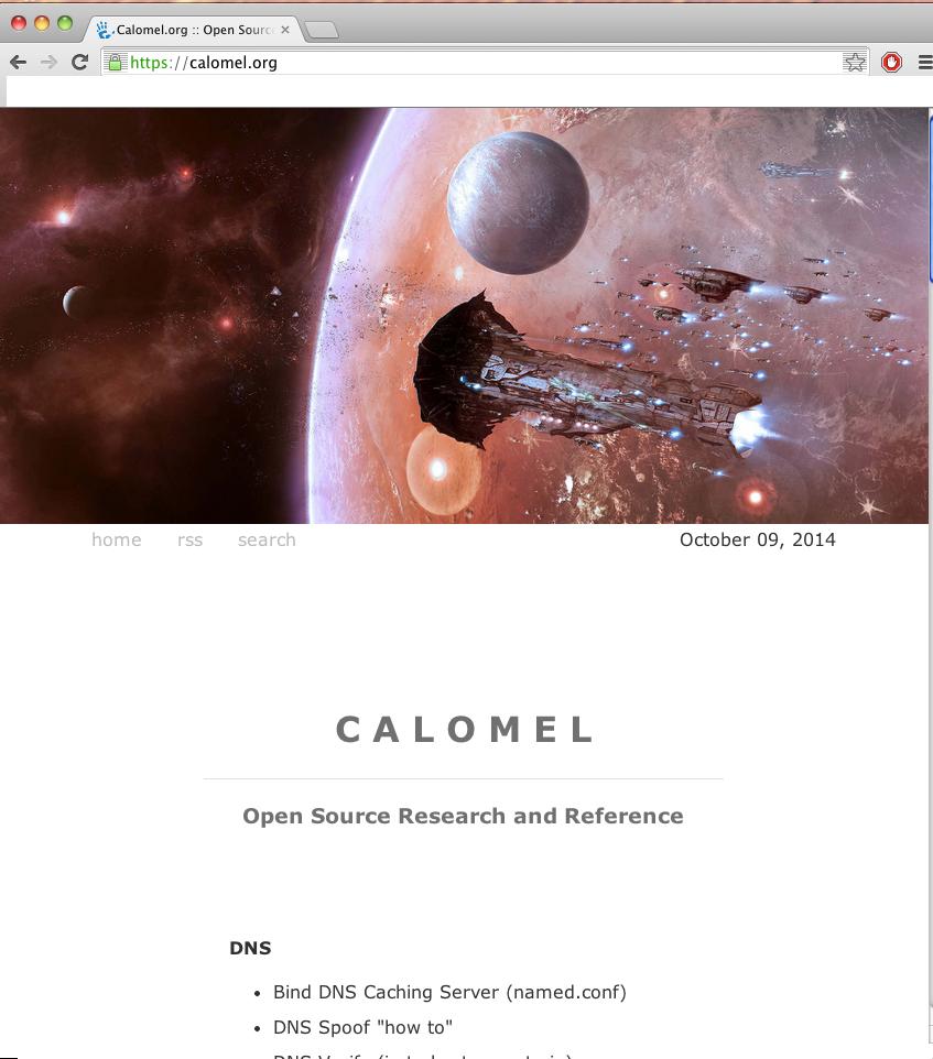 calomel.org