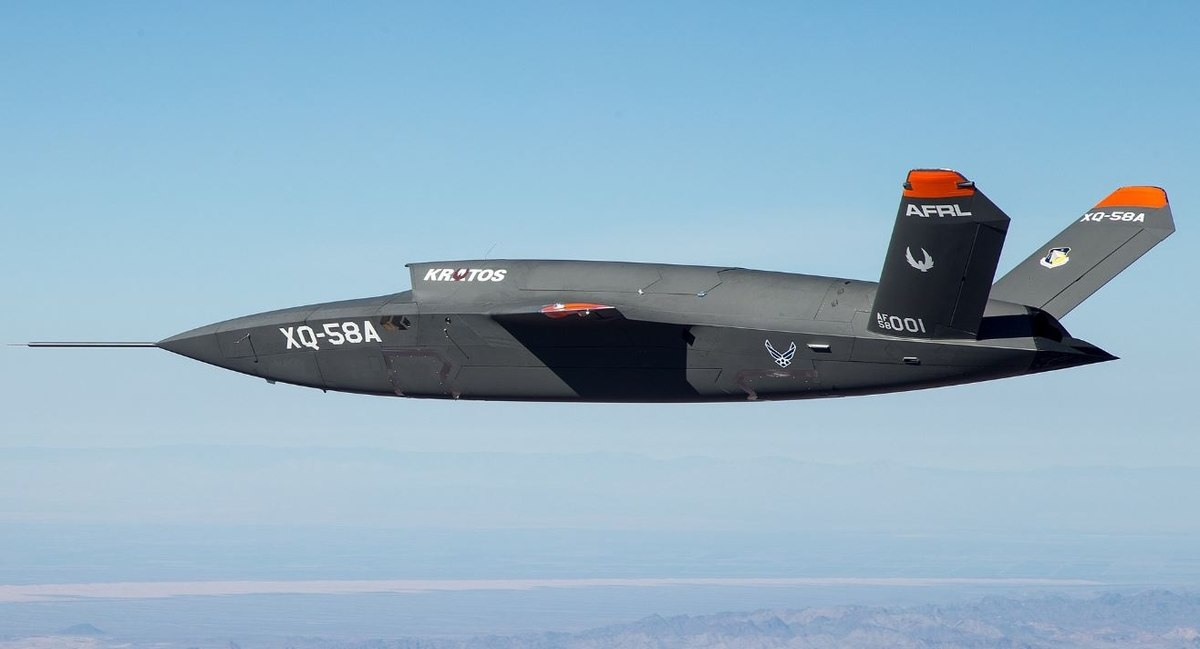 XQ-58A Valkyrie long range high subsonic unmanned air vehicle