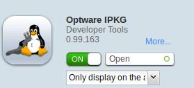 Optware IPKG