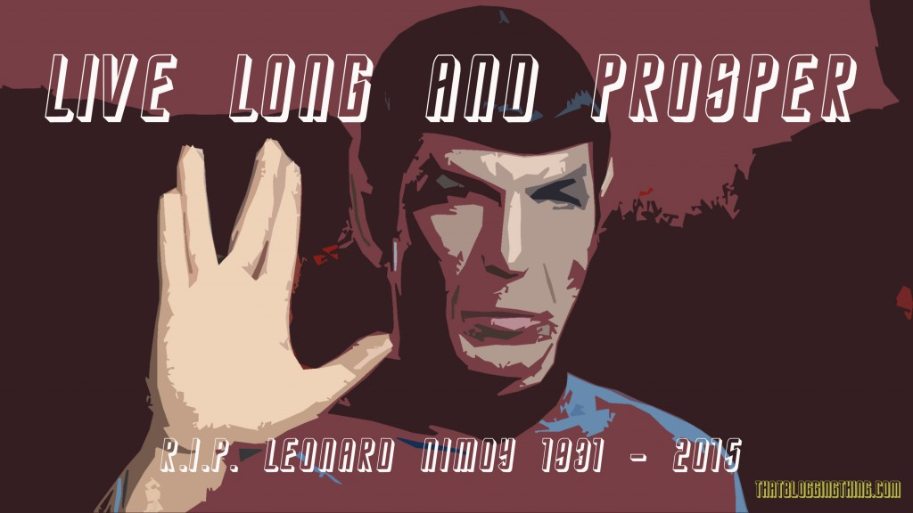 Spock Salute - Live long and Prosper - Star Trek