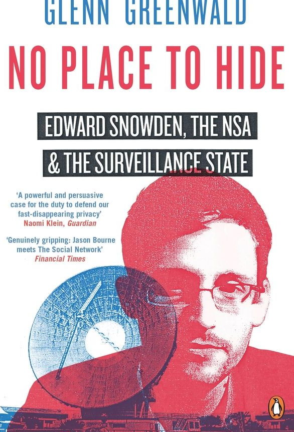 glenn greenwald – book – snowden – no place to hide - cover2