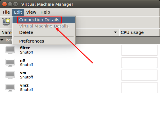 virt-manager change default location where vms are stored