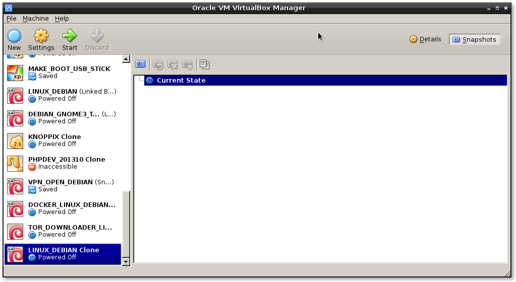 virtualbox clone machine3