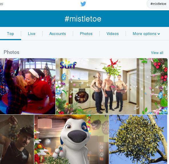 #mistletoe