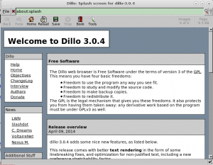 dillo-free-software-gpl3