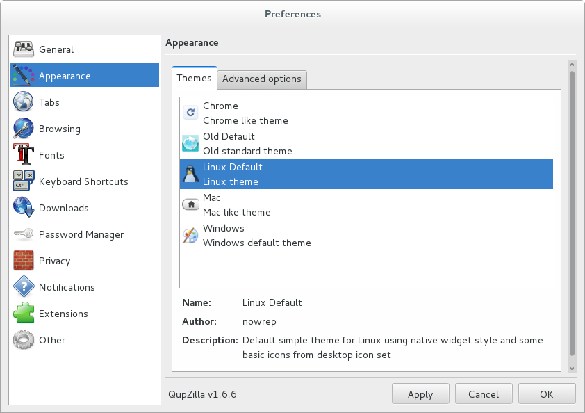 qupzilla_screenshot_preferences_appearance