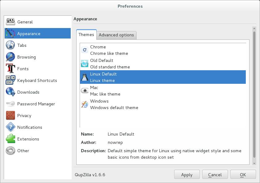 qupzilla_screenshot_preferences_appearance