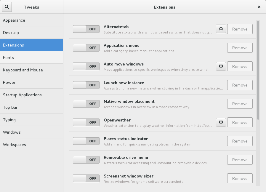 tweak tool gnome3_8