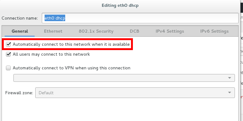 gnome3 network management editor nm-connection-editor