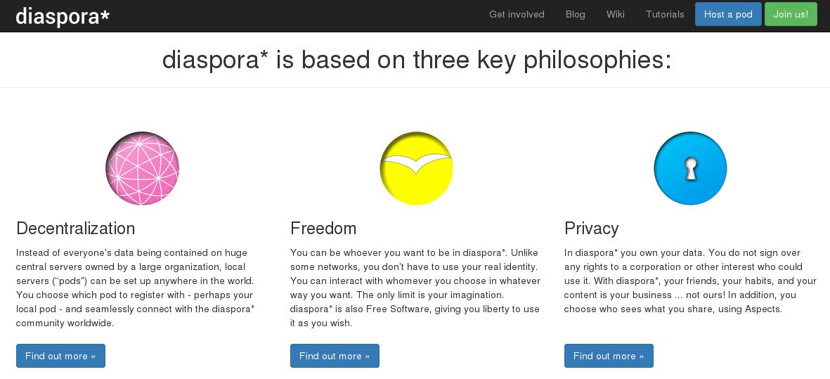 Diaspora_Distributed_Social_Network_three-key-philosophies