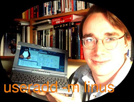 GNU Linux -> usermanagement: user and group management – create new user (adduser) – delete user (deluser-userdel) – (Debian SUSE RedHat CentOS)