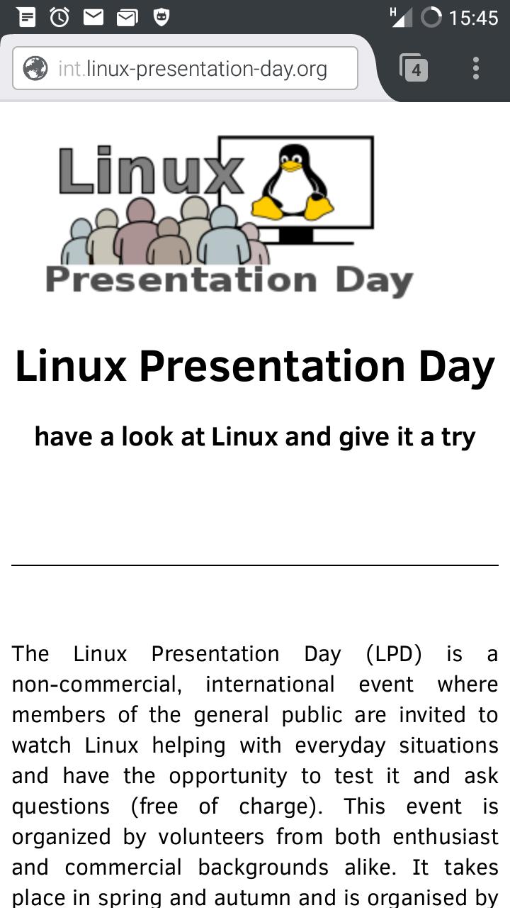 Linux Presentation Tag Ulm