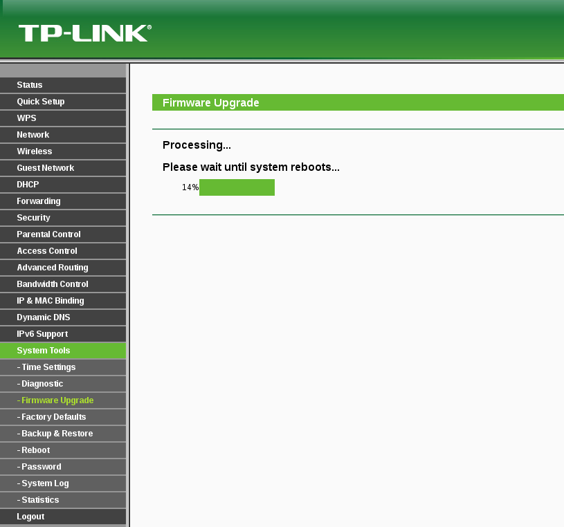 tp-link tl-wr841n firmware v11