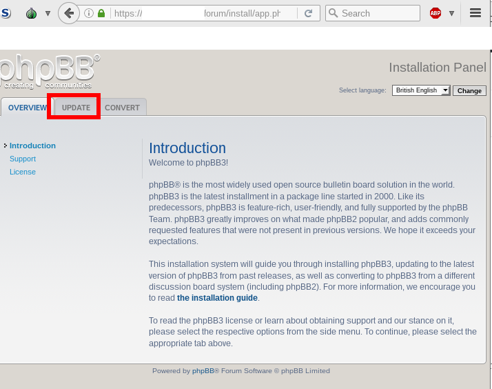 Why is Updating phpBB sooo complicated? :-D