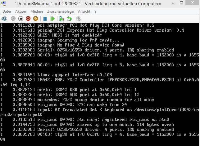 linux verbose output during boot – show more output kernel messages
