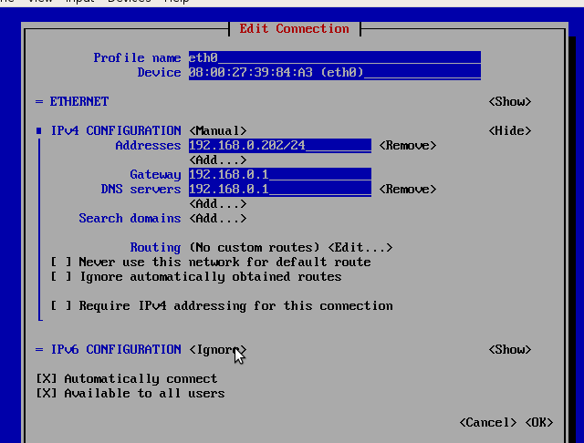 linux debian ubuntu centos7 redhat suse12 – network interface card fixed dynamic ip config files