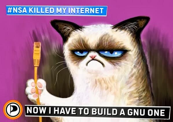 alternative infrastructure – building an new open source open hardware internet