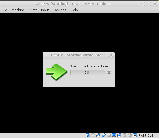 VirtualBox under LinuxDebian – Hang Hung VM on Starting Virtual Machine