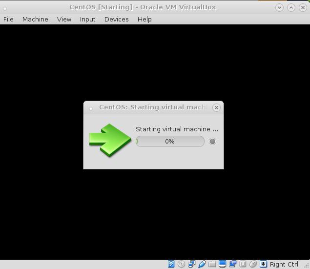 VirtualBox under LinuxDebian – Hang Hung VM on Starting Virtual Machine