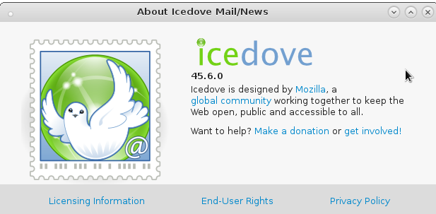 Thunderbird Icedove Reorder Accounts