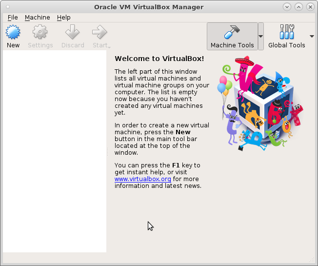 CentOS7 setup virtualbox