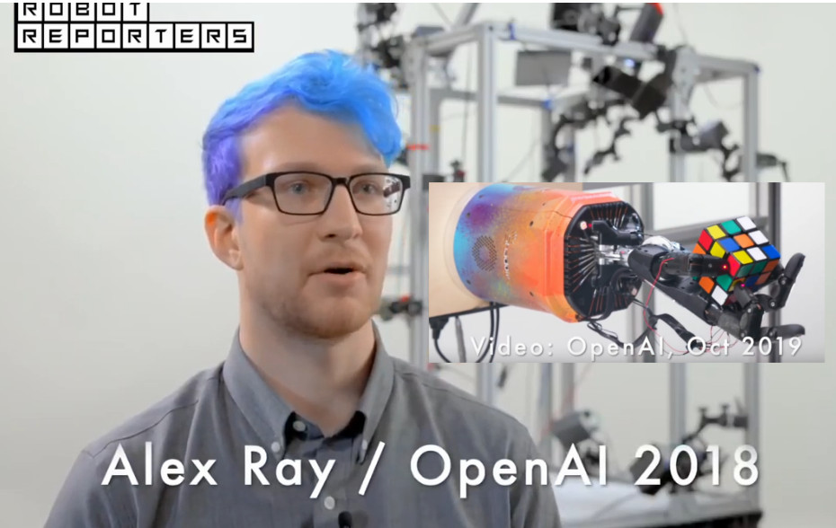 why do people working on robots look like robots themselves? X-D