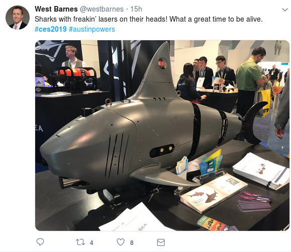 Sharks – with lasers!