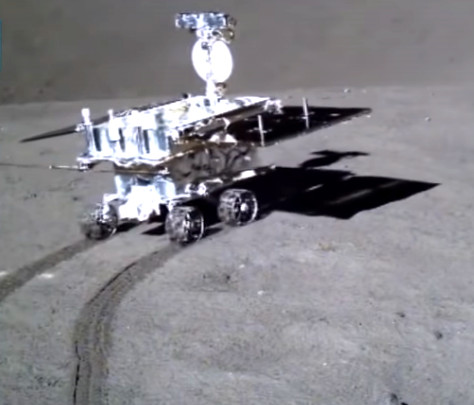 Chinese Rover Yutu 2 – rolling on Moon