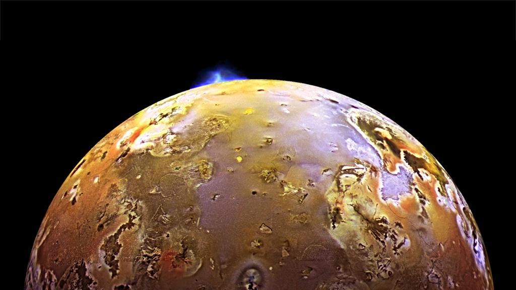 vulcanic activity on IO (Moon of Jupiter)