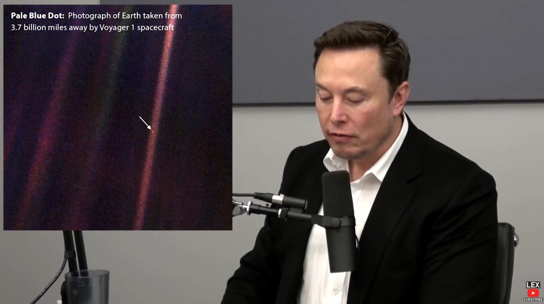 Elon Musk quoting Carl Sagan