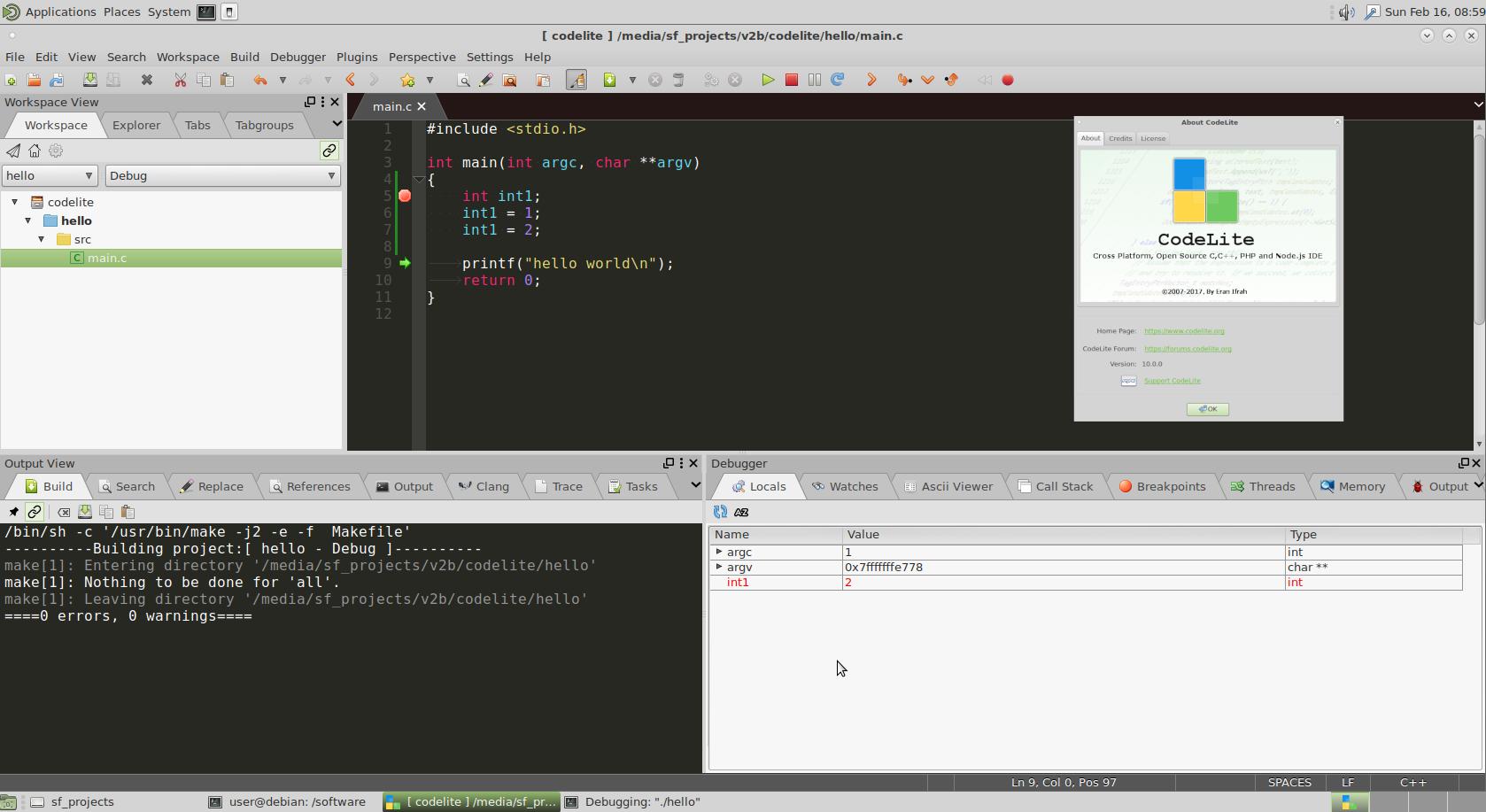 software development programming – dev – choosing the right C / C++ Text Editor Editor / Debugger / GUI IDE