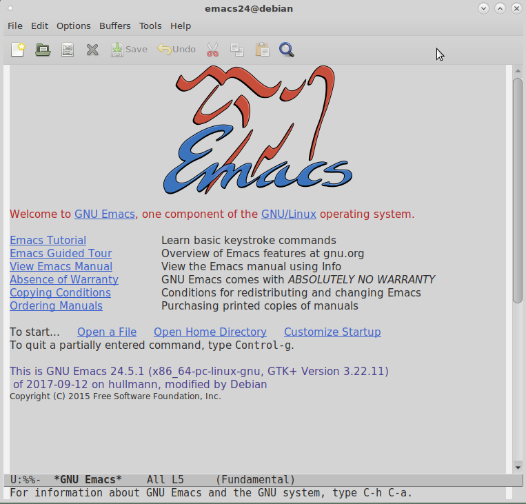 this is emacs24
