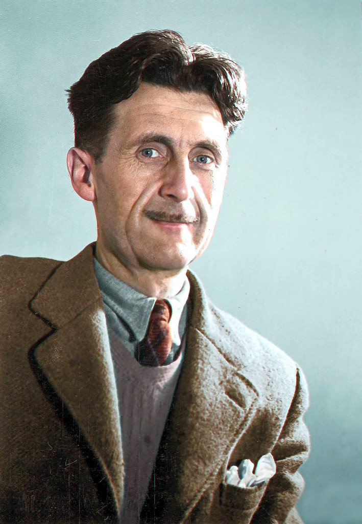 "backup of the backup – Some Things That You Might Have Missed from George Orwell – Orwell left one final warning: ""don't let it happen"""