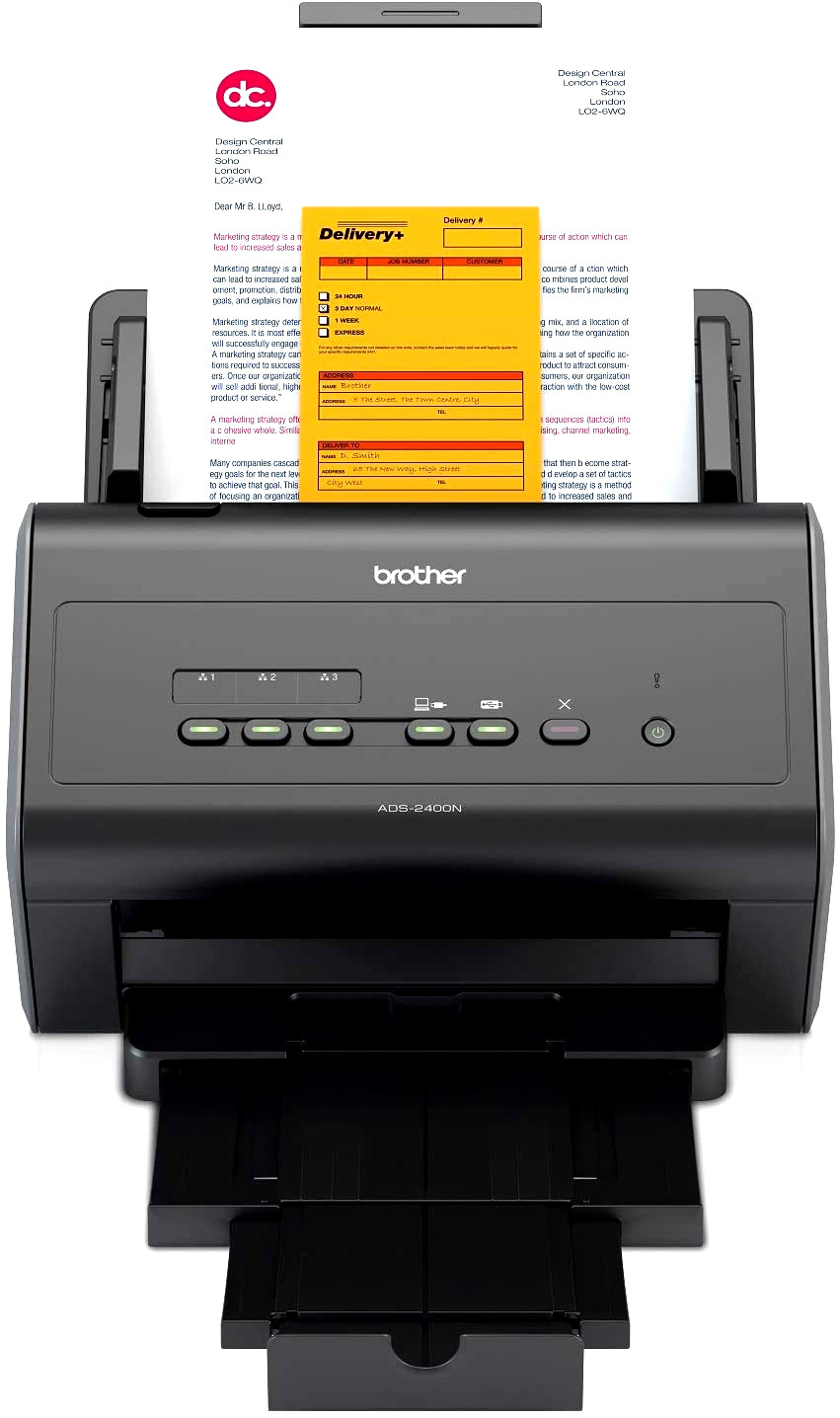 Brother ADS 2400N Document Scanner Scheduled Maintenance Error – Wartungs Fehler – scanner beeps every time I scan – scanner piept nach jedem scan