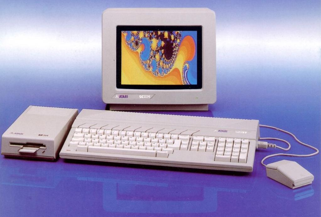 retro computing – Atari TOS Desktop Screenshot Atari TT Calamus Papyrus