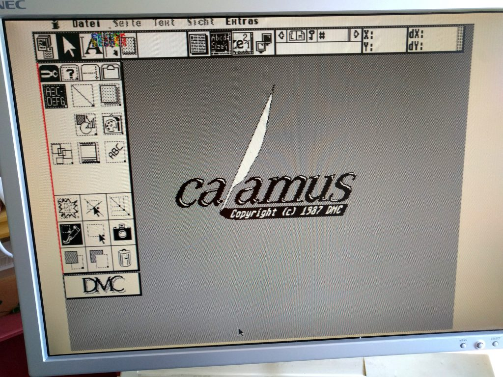 Calamus Atari Desktop Publishing Software