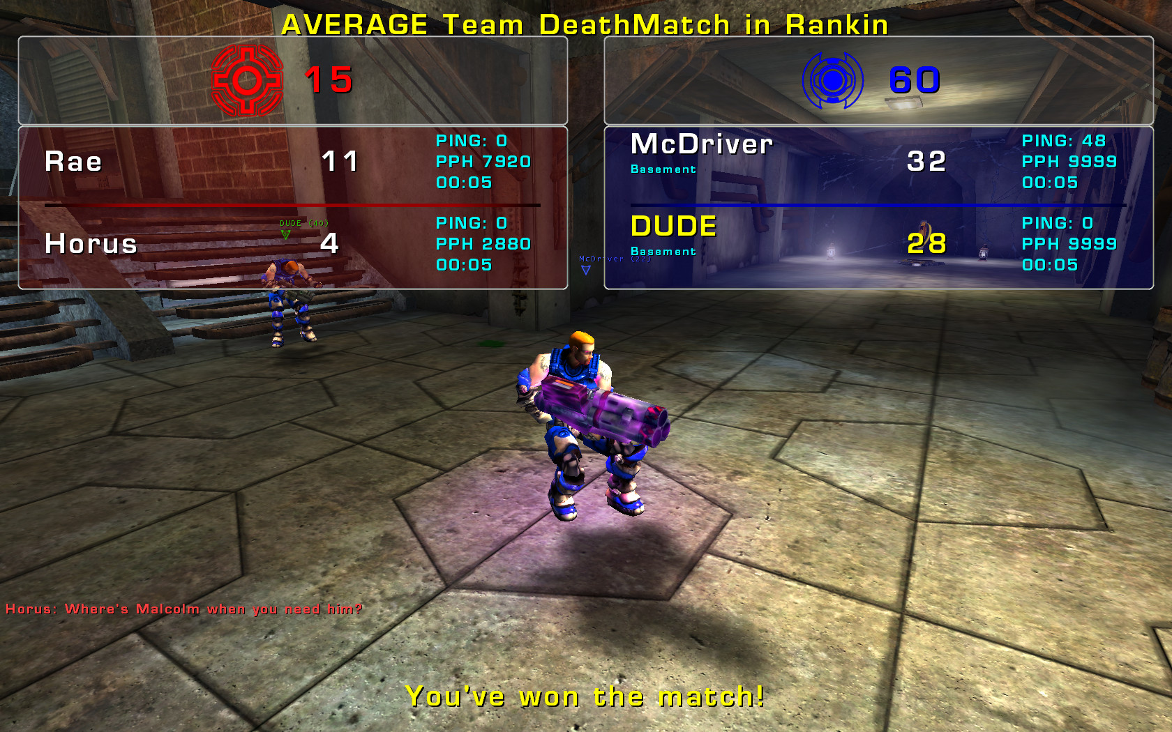 ut2004 – players vs (more) bots (than players)