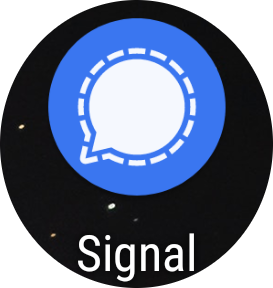 GoodBye WhatsApp (Facebook) GoodBye (Telegram) – Hello Signal (there is even a Desktop Version :) (also featuring: CareGiving & scary Dentist robots)