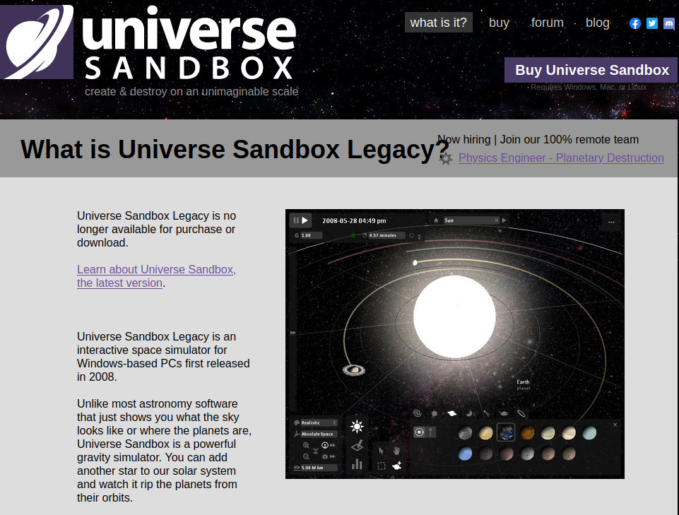 http://universesandbox.com/