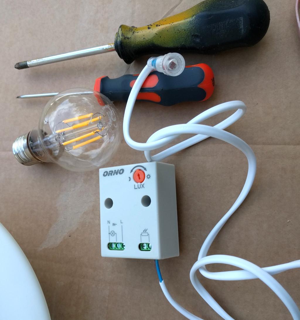 electronics how to – twilight switch (photoelectric lighting controller) – ORNO Dämmerungsschalter Verdrahtung Beispiel